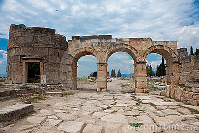 Cancello di Domitian in Hierapolis