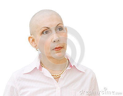 Cancer patient undergoing chemotherapy