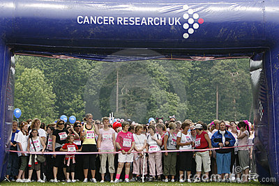Cancer Race For Life Editorial Photo