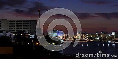 Cancun, Mexico - night
