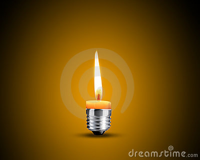 Candellight in bulb