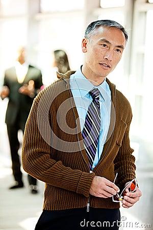Candid Business Portrait