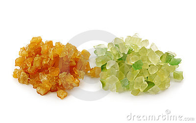 Candied fruit peel