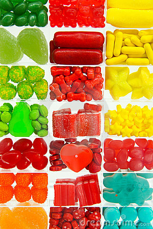 Free Candies Assortment Royalty Free Stock Photo - 14192185