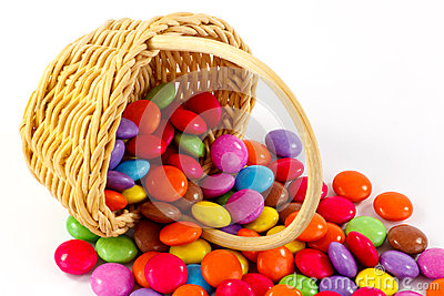 Image result for basket of candies