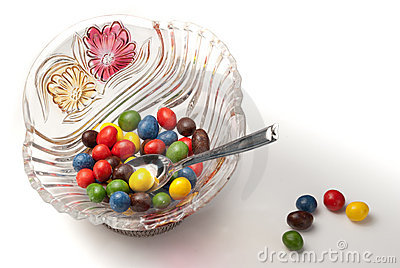 Candies bowl