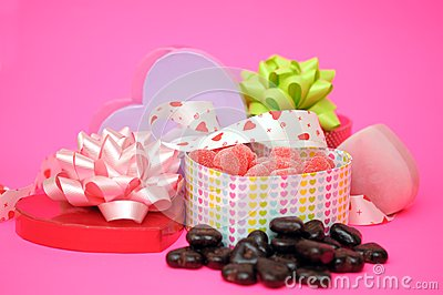 Candies boxes