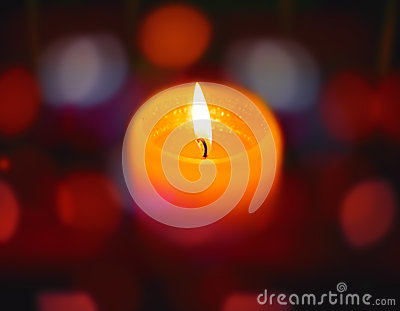 candle on abstract color bacground stock photo image 52004030