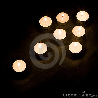 Free Candle Arrow Royalty Free Stock Photos - 4434678