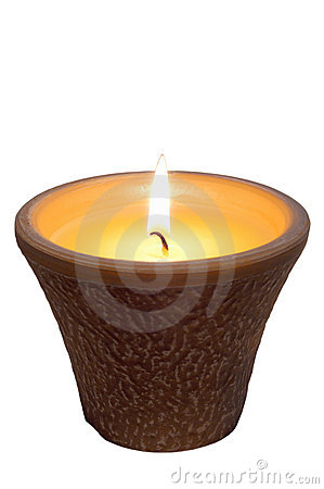 Free Candle Citronella Stock Image - 9468381