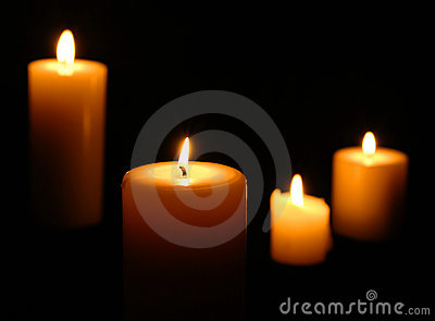 Candle Grouping Isolated