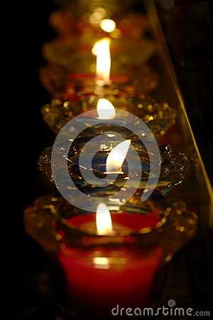 Free Candle In Church Royalty Free Stock Image - 98306886