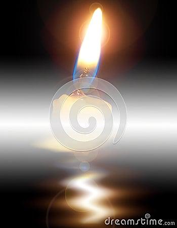 Free Candle Light Stock Image - 9280301