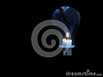 Candle - light-bulb