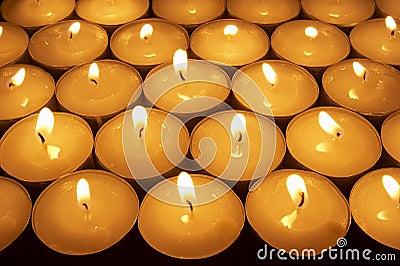 Candle lighting 1