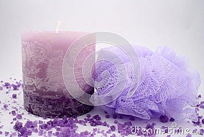 Candle and Sponge
