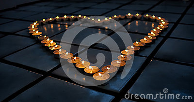 Candle Warm heart