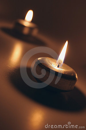 Free Candles Royalty Free Stock Photography - 394207