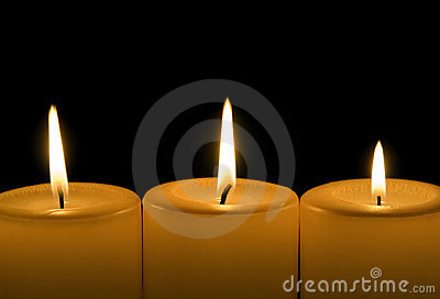 Candles Stock Photo - Image: 5447390