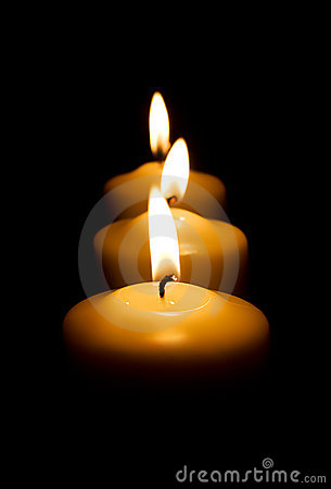 Free Candles Royalty Free Stock Image - 6587496