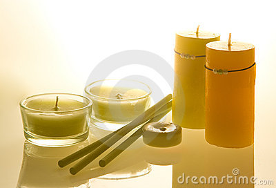 Candles aroma therapy