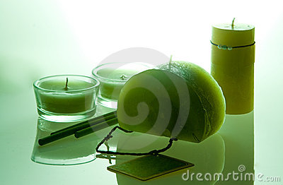 Candles aromatherapy