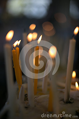 Free Candles Light Flame Stock Photos - 41695643
