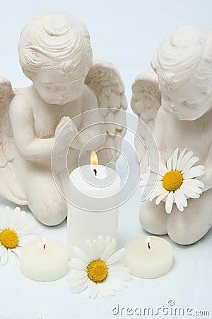 Candles still life