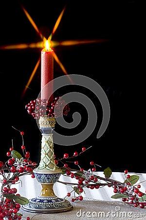 Candlestick - Christmas