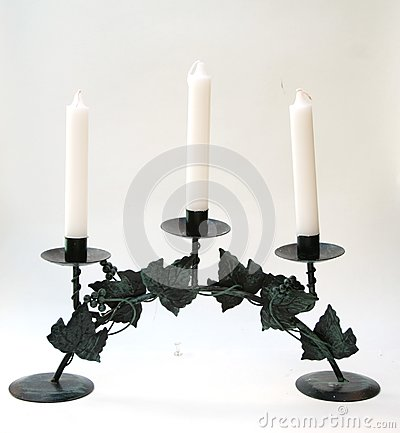 The Candlestick with Three Candles