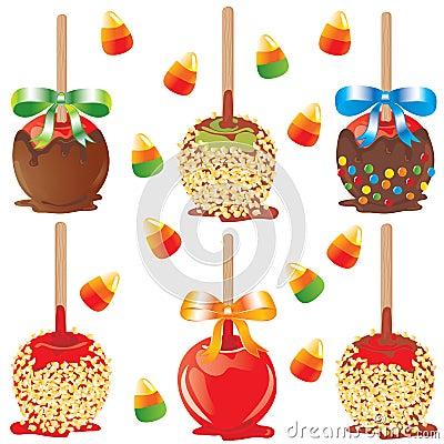 Free Candy Apple Treats Royalty Free Stock Photos - 11055258