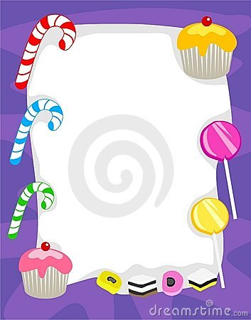 Free Candy Border Royalty Free Stock Images - 67869