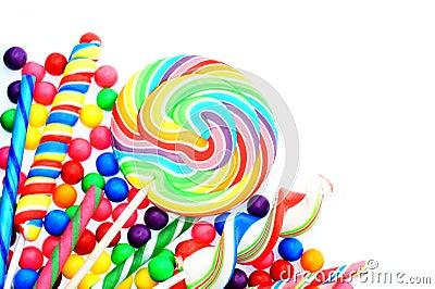 Candy Border Royalty Free Stock Photos Image 30590118