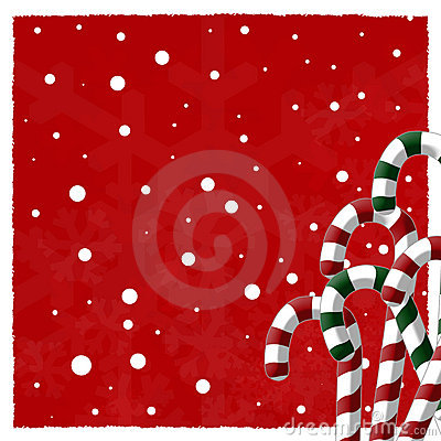 Free Candy Cane Background Royalty Free Stock Photography - 3286387