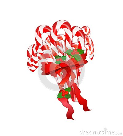 Candy Cane Bundle Isolated