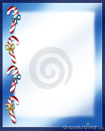 Candy Cane Christmas Letter