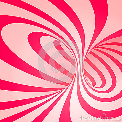 Candy cane spiral / vector background