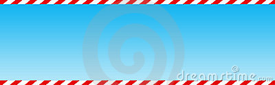 Candy cane web header / banner