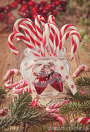Free Candy Canes Stock Image - 35691491