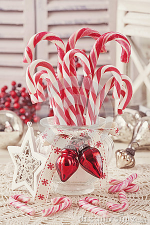Free Candy Canes Royalty Free Stock Image - 35878776