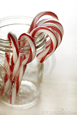 Free Candy Canes Stock Image - 3923061