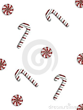 Free Candy Canes & Mints Background Stock Image - 367071