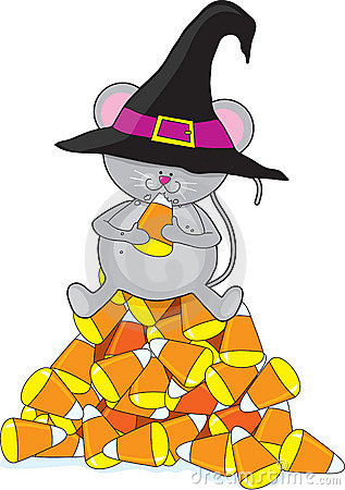 Free Candy Corn Mouse Royalty Free Stock Photos - 6448628