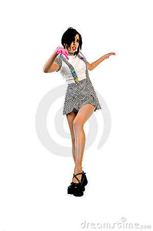 Candy Couture Dancer Stock Image - Image: 6801931