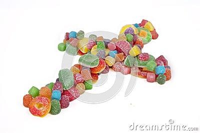 Candy Crucifix