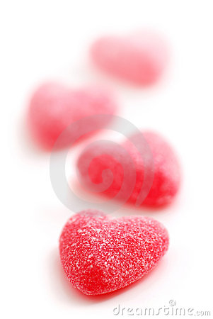 Free Candy Hearts Stock Photo - 1896970