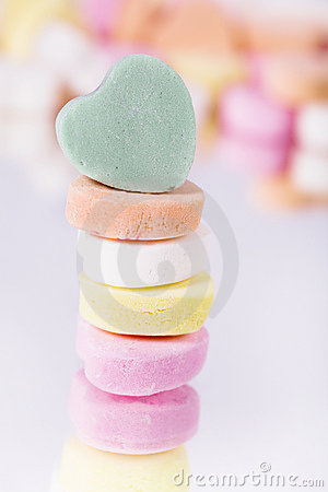 Free Candy Hearts Stock Image - 2026051