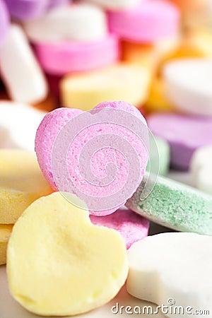 Free Candy Hearts Stock Photos - 50018063