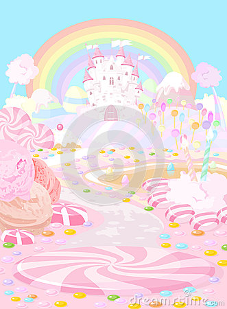 Free Candy Land Stock Photos - 48225473