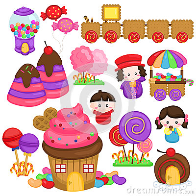 Free Candy Land Stock Images - 56712744